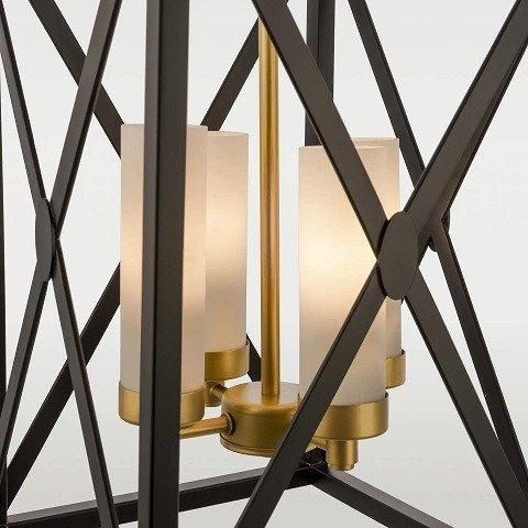Industrialny Lampy stojące srebrny kuchni opinia