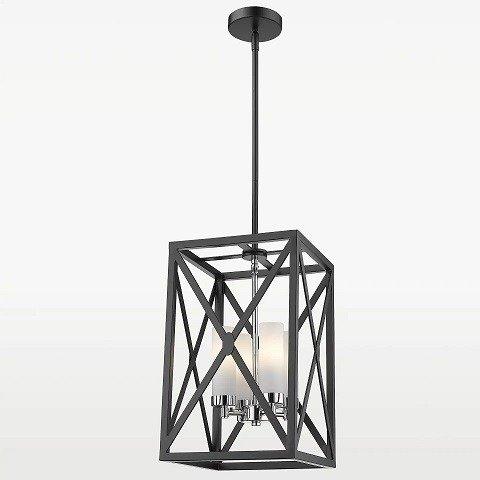 W stylu marinistycznym Lampy sufitowe czarne pokój dzienny aranżacja