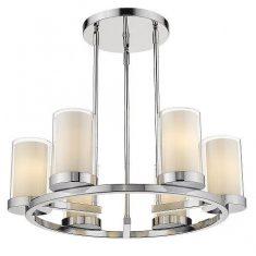 Lampa wisząca Miami Silver 6L 65x22cm Cosmo Light