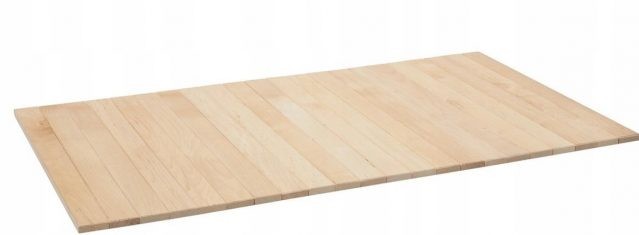 Taca drewniana Tray 50x40cm Oak Soap White