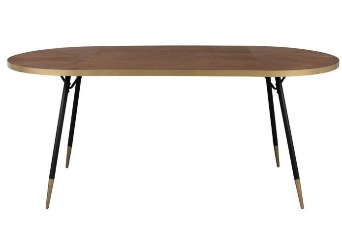 Modern sofa złoty jadalnia aranżacja