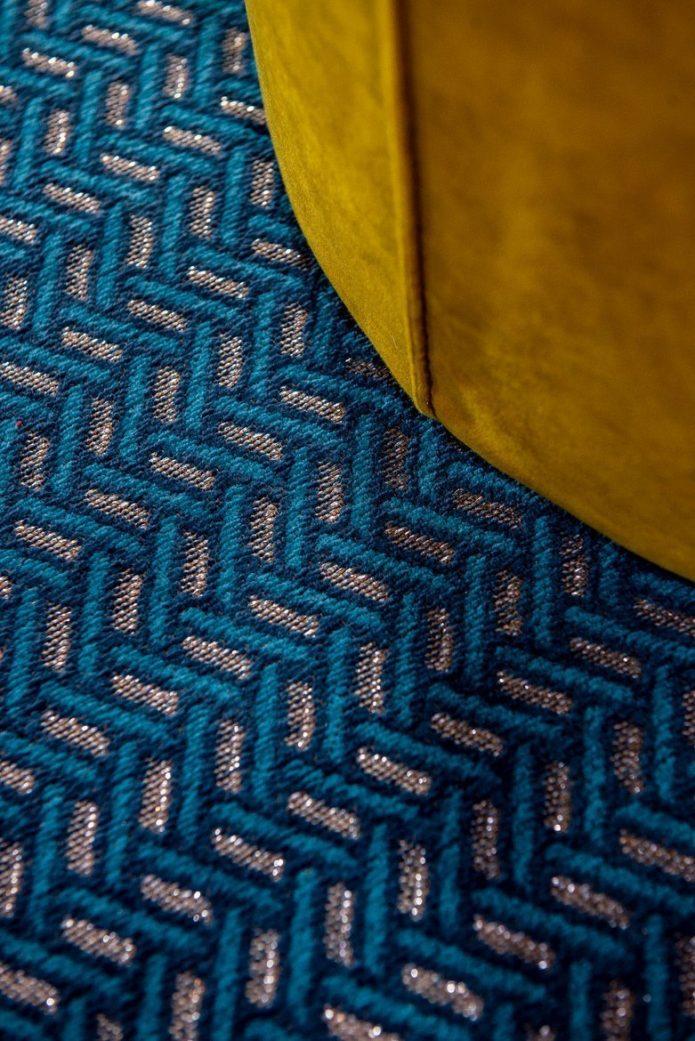 Nowoczene sofa okrągły pokoju dziennego aranżacja