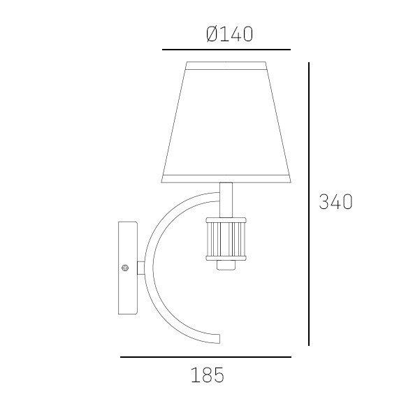 Industrialny lampa dębowe łazienka wysoka jakość