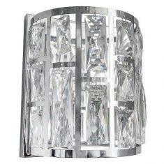 Kinkiet Moscow Silver 19x10x21,5cm Cosmo Light