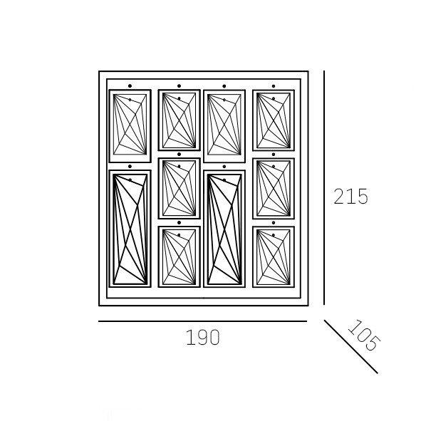 Stylowe Lampy stojące szklane rejstauracja design