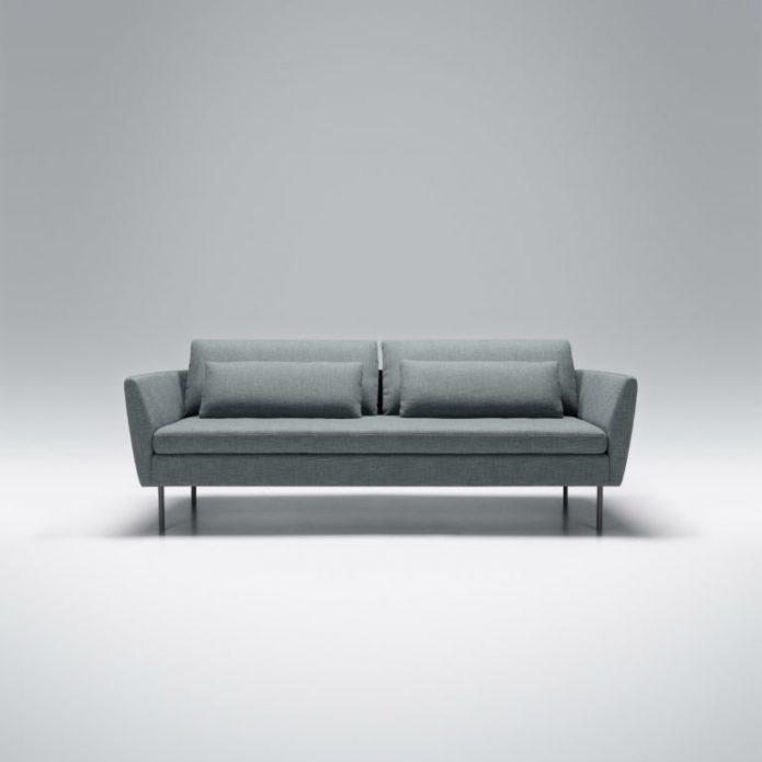 Industrialny sofa drewno łazienka design