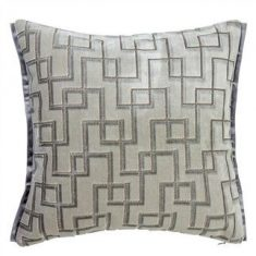 Poduszka dekoracyjna Designerd Guild Jeannert Platiunum 43x43cm