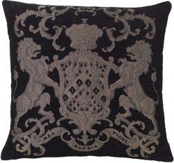 Poduszka żakardowa Fiorantello Black&Silver FS Home Collections bbhome