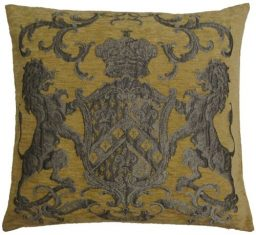 Poduszka żakardowa Fiorantello Gold FS Home Collections 55x55cm
