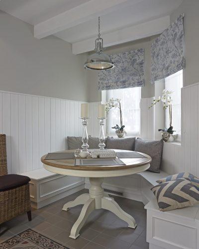 Aranżacja wnętrza w stylu Hamptons - projekt BBHome
