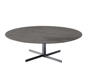 Stolik kawowy marmurowy Formia Grey 110x36cm