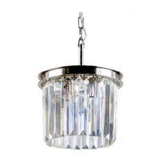 Lampa wisząca kryształowa Odeon Silver 30x30x24,4cm