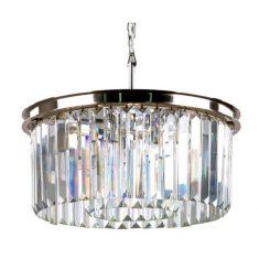 Lampa wisząca kryształowa Odeon 50×24,5cm