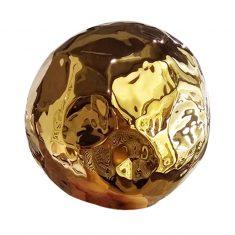 Kula dekoracyjna Gold 12x12cm
