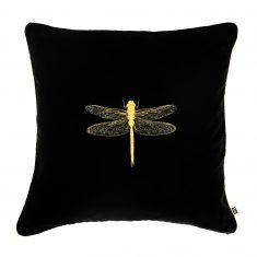 Poduszka dekoracyjna Insectarium Black N°1 Maja Laptos Studio 45x45cm