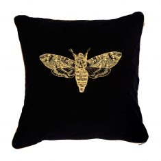 Poduszka dekoracyjna Moth Insectarium Black N°6Maja Laptos Sudio 45x45cm