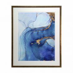 Obraz Sea Wihr I reprodukcja AD  62 x 3 x 77 cm