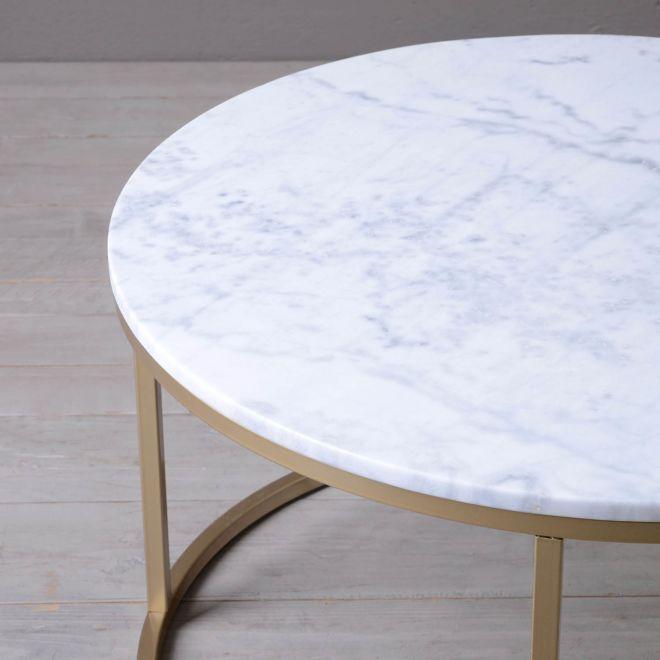 stolik kawowy Marble almi decor bbhome