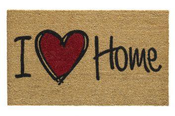 Wycieraczka I Love Home BBHome 45x75cm kokosowa