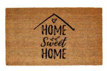 Wycieraczka Home Sweet Home BBHome 45x75cm kokosowa