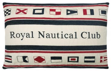 Poduszka dekoracyjna Royal Nautical Club FS Home Collections 45x65cm