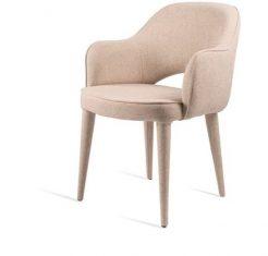 Krzesło tapicerowane Cosy Ecru Fabric Pols Potten