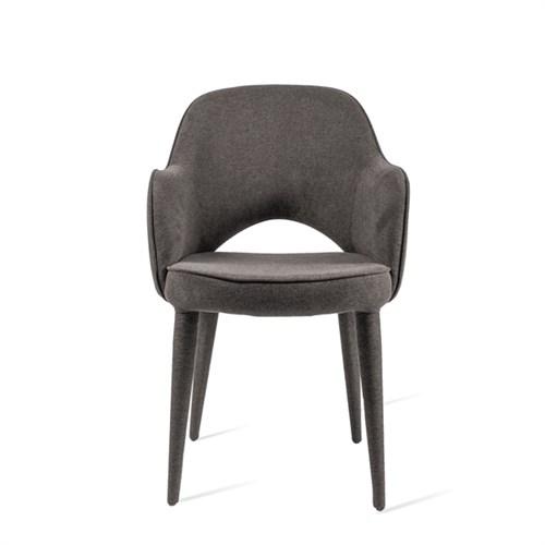 Krzesło tapicerowane Cosy Grey pols potten bbhome