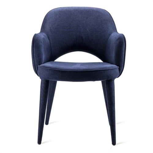 Krzesło tapicerowane Cosy Blue Fabric Pols Potten BBHome