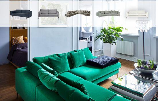 Agnieszka Pudlik poleca: 5 sof, które odmienią Twój salon