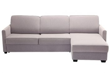 Sofa narożna Sedac Nova BOB z funkcją spania MTI Furninova – z ekspozycji