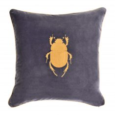 Insectarium Grey N°2 poduszka dekoracyjna Maja Laptos Studio 45x45cm