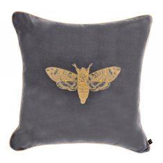 Poduszka Moth Insectarium Grey N°6 Maja Laptos Sudio 45x45cm