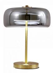 Lampa stołowa Luca Glass Smoke 29x45cm