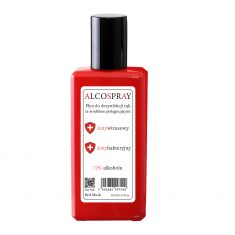 Antybakteryjny spray Red Musk Alko Spray 50ml