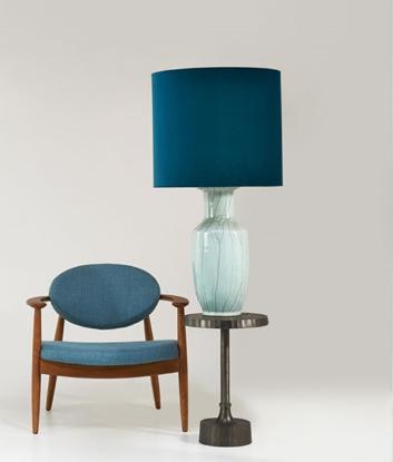 Krzesło Roundy Light Blue pols potten bbhome