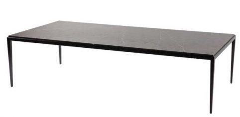 Stolik kawowy Faro Nero Tunezi marmur Almi Decor 160x78x40cm