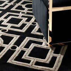 Carpet Eichholtz Evans Black Taupe 200x300cm