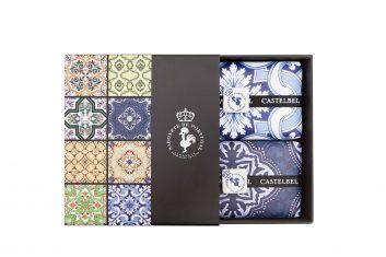Zestaw Castelbel Tile Lavender & Rhubarb mydełka 2 x200g