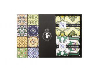 Zestaw Castelbel Tile Olive & Cilantro bbhome