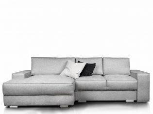 Sofa narożna Tyberias z funkcją spania Rosanero