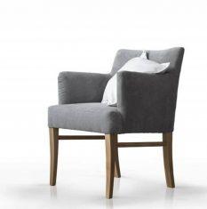 Fotel tapicerowany Dune Rosanero