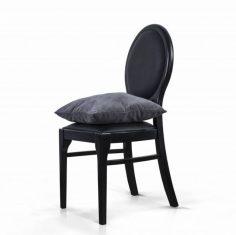 Krzesło tapicerowane Nero Rosanero