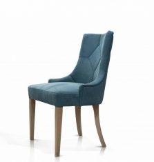 Krzesło tapicerowane Prince Rosanero