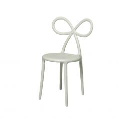 Krzesło białe Ribbon QeeBoo 45,5×49,5×83,5cm