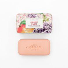 Mydło Coconut Mango w metalowym pudełku Castelbel 180g.