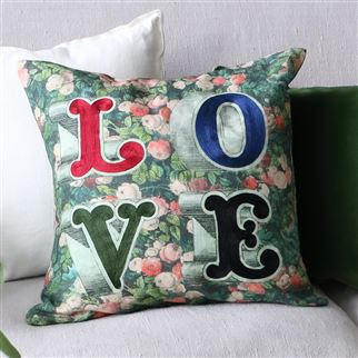 Decorative Pillow Love Forest Designers Guild 50x50cm Bbhome Store