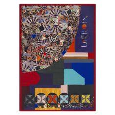 Pled dekoracyjny Mosaic Freak Multicolore Throw Lacroix 130x180cm