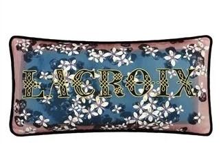 Poduszka Lacroix Cherry! Bleu Denim 60x30cm