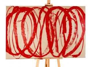 Obraz abstrakcyjny I Pwombly 100x150cm BBHome