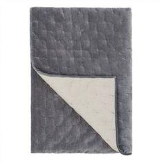 Narzuta Sevanti Graphite Small Quilt Designers Guild 230x230cm